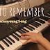 [악보] Try to remember_추억의 팝송 명곡 피아노