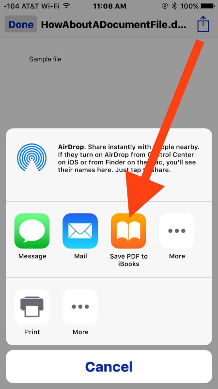 how to look at files on iphone