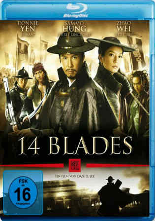 14 Blades 2010 BDRip 900MB Hindi Tamil English Multi Audio 720p Watch Online Full Movie Download bolly4u
