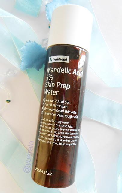 By Wishtrend mandelic acid 5% prep water