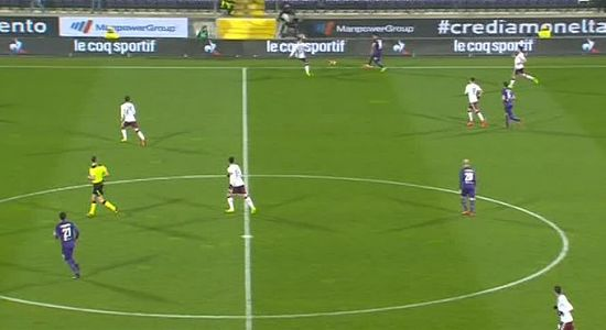 HIGHLIGHTS SerieA, Fiorentina Torino 2-2: Saponara, Kalinic, Belotti (2)