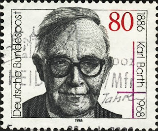 Stamp of Karl Barth