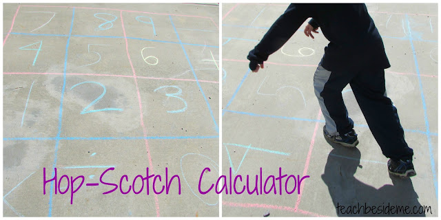hop-scotch math