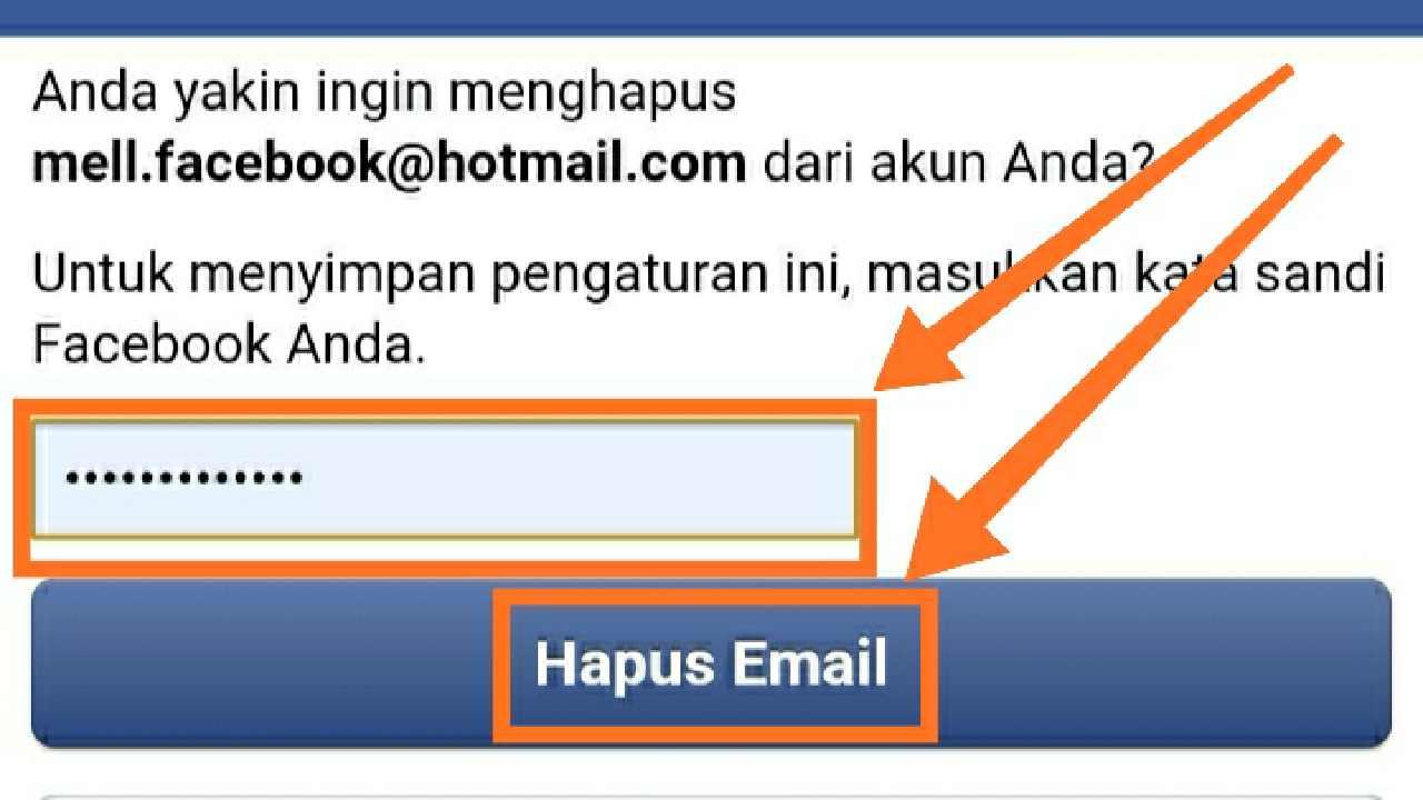 Bagaimana Cara Menghapus Akun Email di FB?