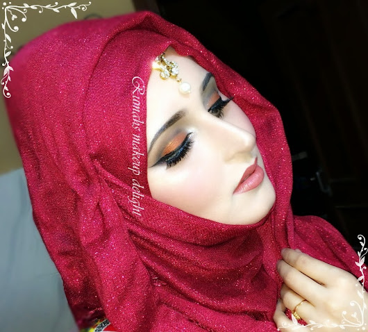 Bridal Party Makeup Tutorial Hijab Tutorial Included This Is A Tutorial
