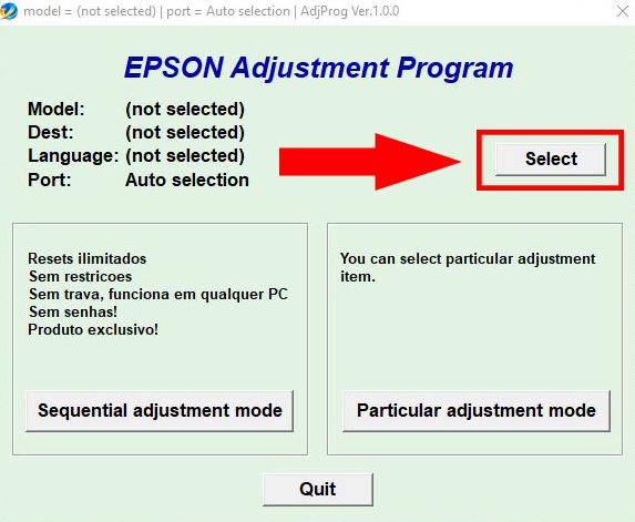 Epson L130|L220|L310|L360|L365 Resetter