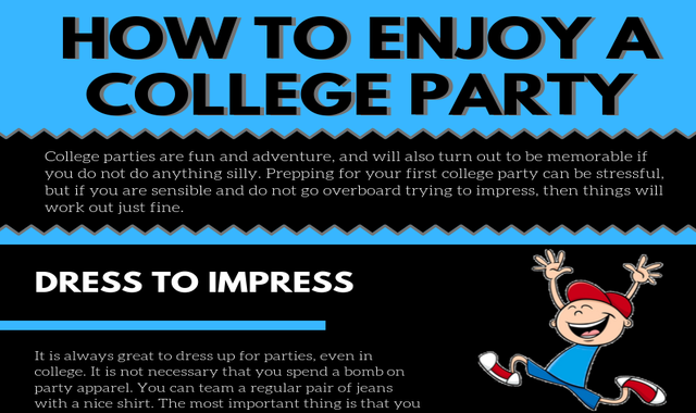 How to Enjoy a College Party