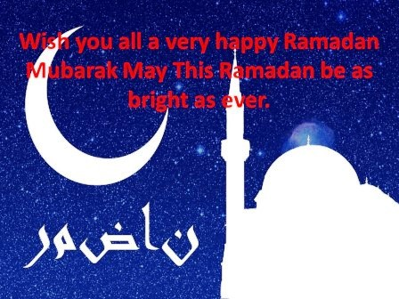 Happy Ramadan Greetings 2020