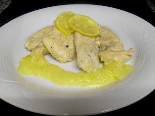 Pechugas de pollo al limón.