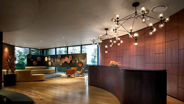 Reception Area E&O Residences Kuala Lumpur