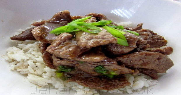 Beef With Mandarin Recipe