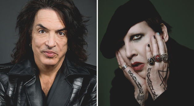paul stanley marilyn manson