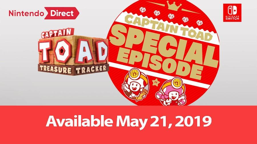 captain toad treasure tracker nintendo switch special episode dlc
