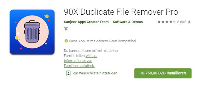 Au lieu de 65 euros gratuits: cette application professionnelle efface  des fichiers en double de votre téléphone portable