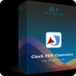 تحميل Cinch PDF Converter 1.0.1 مجانا لتحويل ملفات PDF مع كود التفعيل
