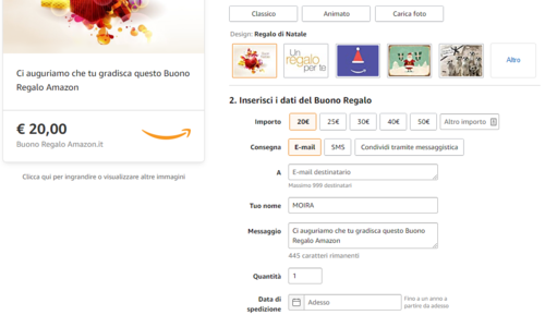 regali di natale Amazon