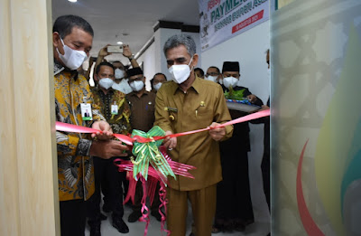 Hari Ini, Payment Point Bank Aceh Kantor Bupati Aceh Utara Beroperasi : Bank Aceh Serahkan Deviden 16,6 Miliar