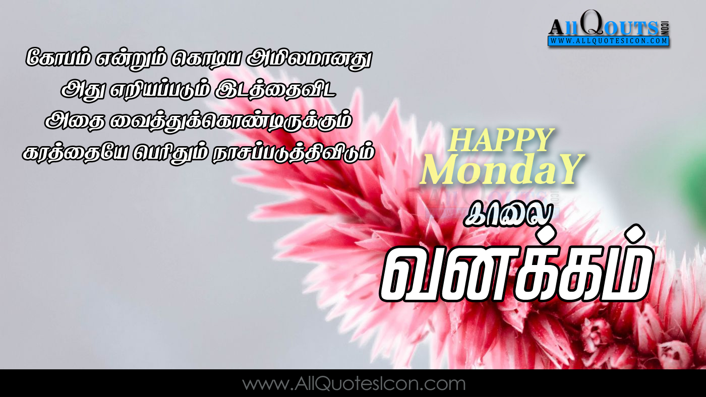 Happy Monday Images Tamil Good Morning Quotes Hd Wallpapers Best