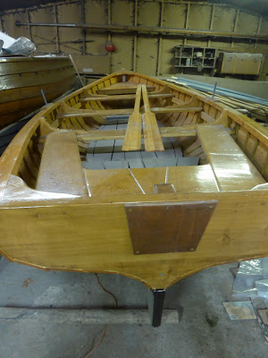 Traditional Wooden Boat Building.