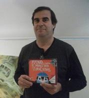 """Claudio Garbolino, autor de """"Pipino, el pingüino..."""""""