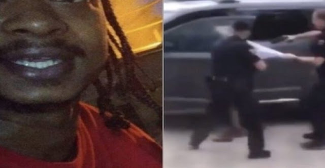 إطلاق النار بوحشية على رجل أسود اخر بأمريكا