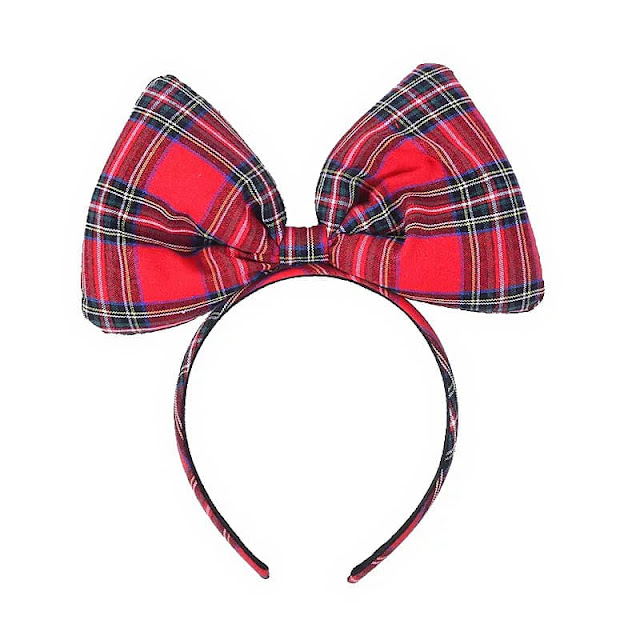 tartan, headband, oversized, bow, Brianna, Cannon, athomewithjemma
