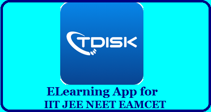 TDiSK App for IIT JEE NEET EAMCET Students - BIE Telangana TDiSK: Learning app for Intermediate Students | TDISK Mobile App for Intermediate students of Telangana | TDiSK Learning App & DiSK Online Web portal for Intermediate Students| TDISK eLearning App for IIT JEE NEET EAMCET Aspirants - BIE Telangana | TDiSK - India's Best Learning app for +2, JEE,NEET| TDiSK Learning App and DiSK Online web portal – http://diskonline.in/ for Intermediate Students| TDiSK is Full Digital Study Kit for Intermediate, +2, JEE, NEET JIPMER, EAMCET, AIIMS, BITSAT and lot more. TDiSK eLearning App for IIT JEE NEET EAMCET Aspirants - BIE Telangana/2020/04/tdisk-elearning-app-disk-online-web-portal-for-intermediate-students-download.html