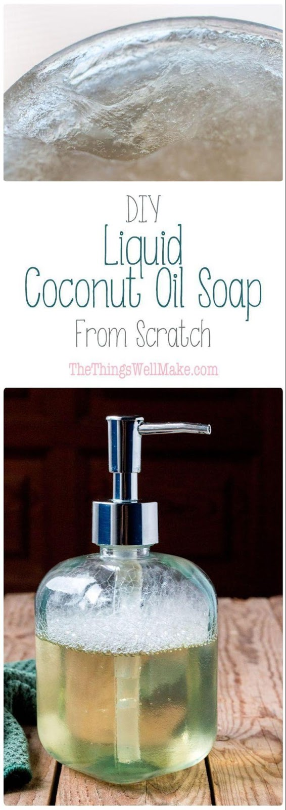 Enjoy natural soaps and body wash with coconut oils