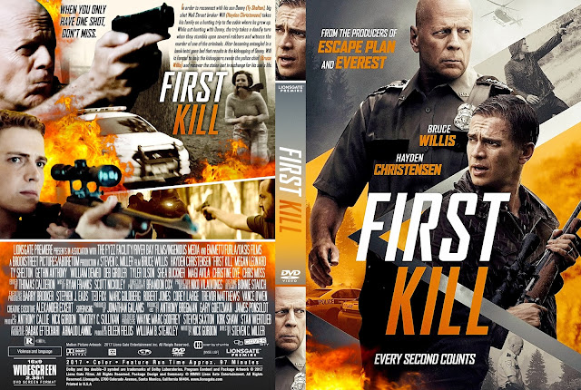 First Kill DVD Cover