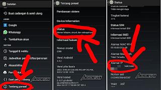 Cara Mengetahui IP Di Android