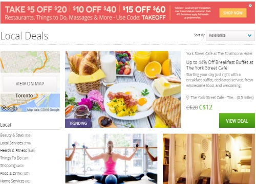 Groupon Promo Code Extra $5 Off $20, $10 Off $40, or $15 Off $60
