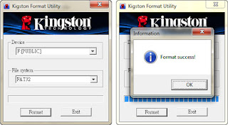 Kingston usb tool