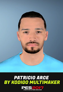 PES 2017 Faces Patricio Arce by Kodigo