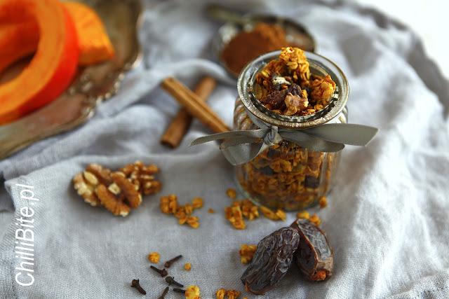 granola dyniowa pumpkin granola