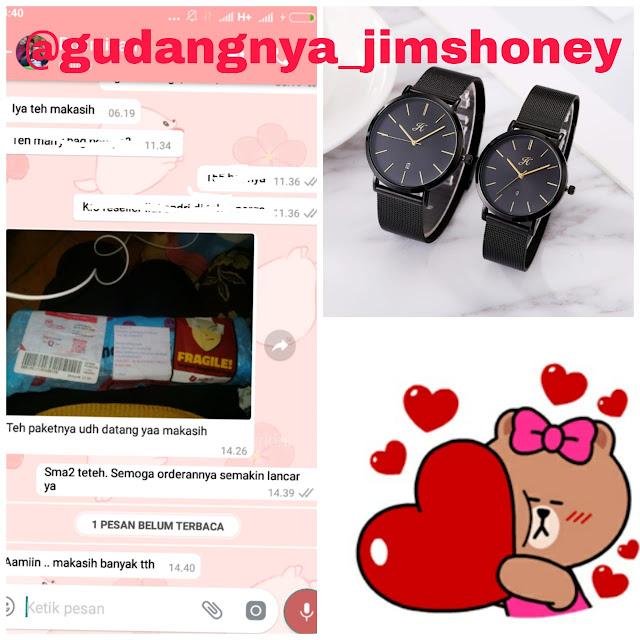 Testimoni Jam Tangan Jimshoney Timepiece 8067