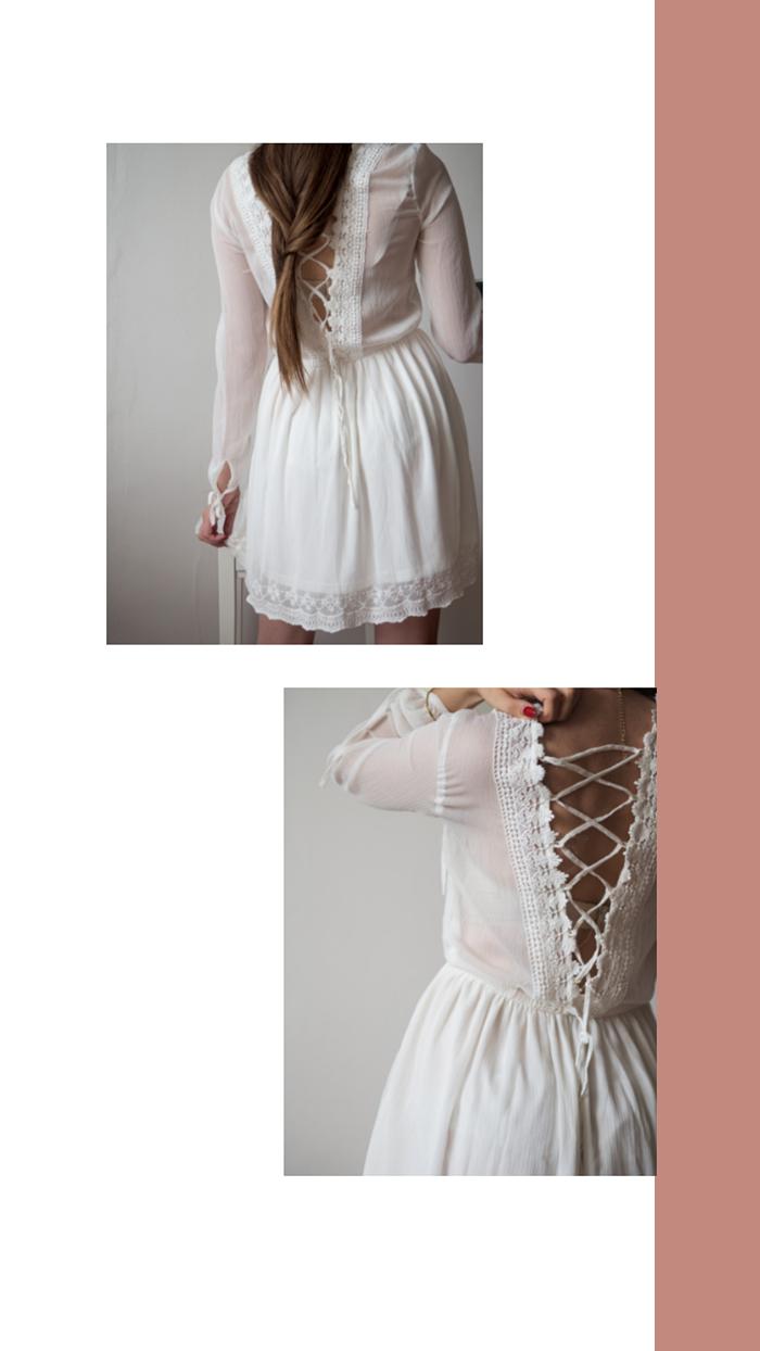 sukienka na lato z hm blog