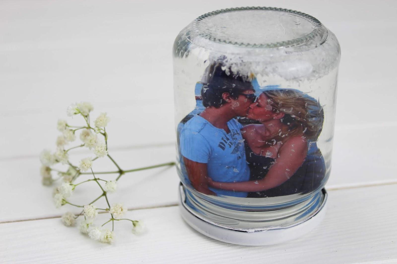 Schneekugel mit Foto - DIY: 5 wundervolle Fotogeschenke ganz schnell und einfach selber gemacht mit dem HP Tango X