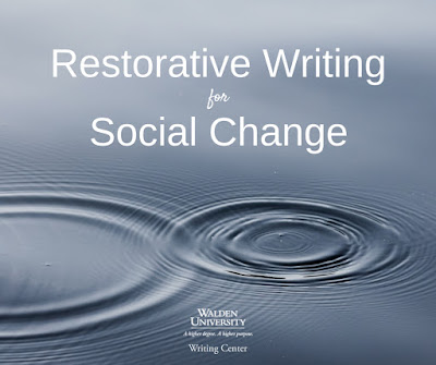 restorative writing for social change