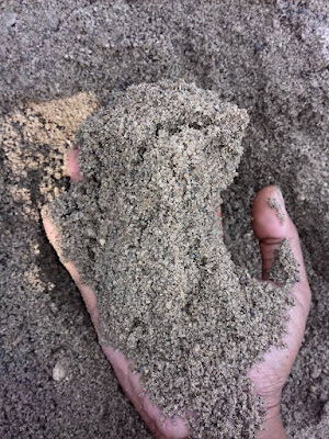 pasir cor hitam ekonomis