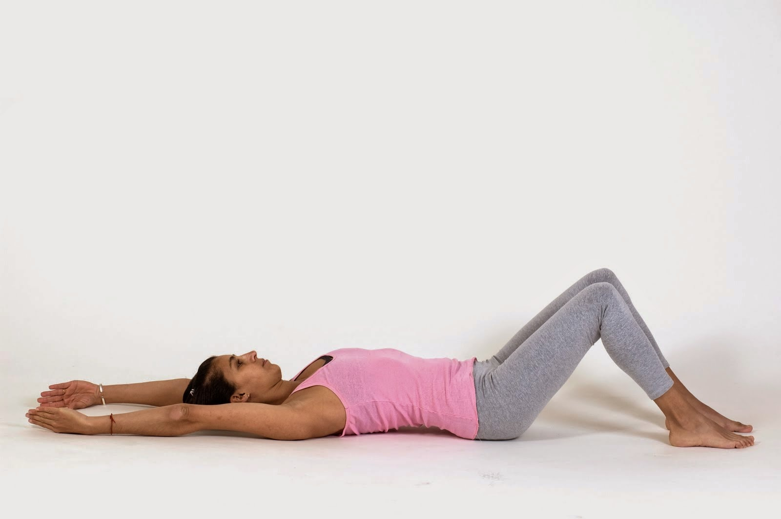 Estiramiento de piernas simple, Pilates