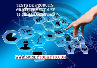 TESTS DE PRODUITS GRATUITEMENT LES 11 MEILLEURS SITES