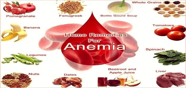 علاج الانيميا و فقر الدم نهائيا