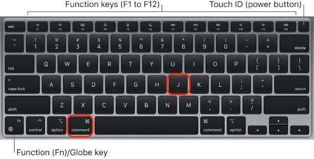 5 Tombol Pintas Membuat MacBook Lebih Mudah Digunakan