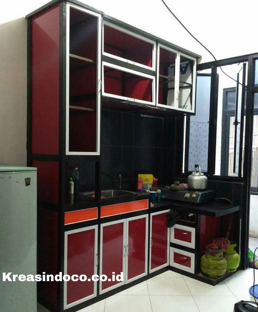 Kitchen Set Aluminium Acp Rangka Aluminium