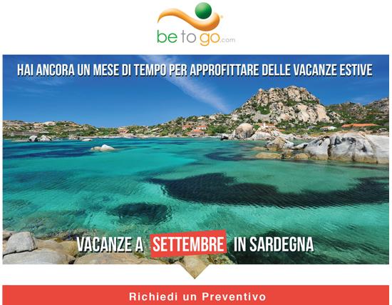 Vacanze a Settembre in Sardegna