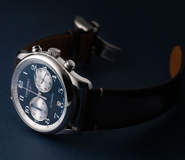 Longines Master Collection Chronograph Bucherer Blue Editions Longines Master Collection Chronograph Bucherer Blue Editions