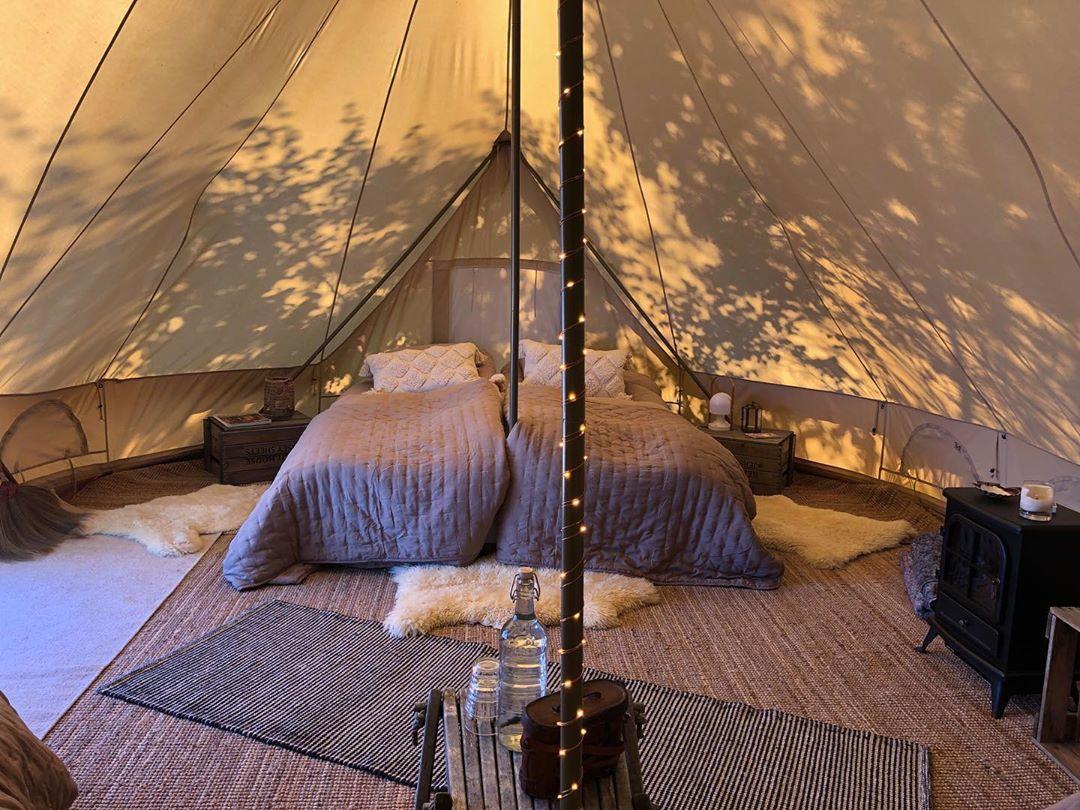 La vacanza ideale è in un lodge nella natura svedese