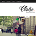Claire - Personal & Responsive Blogger Template