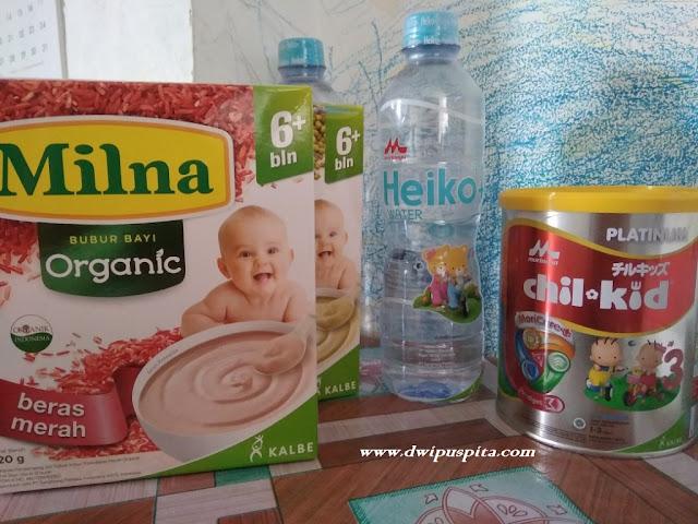 Morinaga Heiko+ Water 500 ml