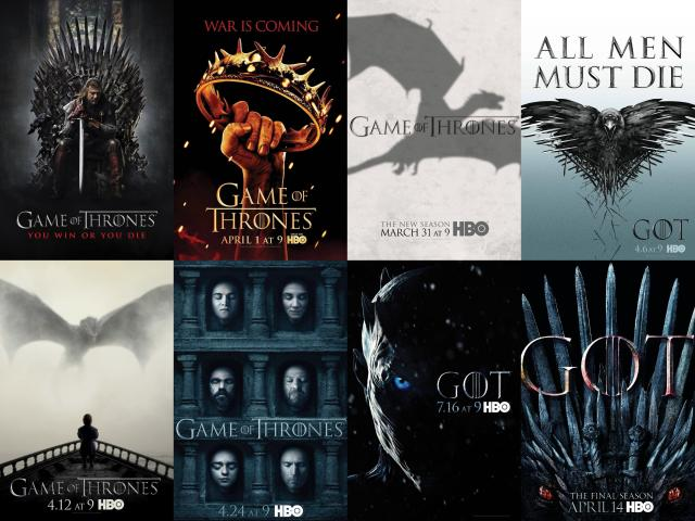 Tv Series: Game Of Thrones Season 1-8 Complete Episodes